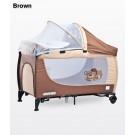 CARETERO Grande Ceļojumu gultiņa, pārtinamā virsma, paaugstinātais stāvs zīdaiņiem
