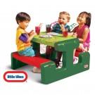 Little tikes bērnu piknika galds