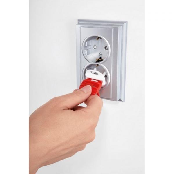 REER  sienas kontaktligzdu aizsargi 5 gb.