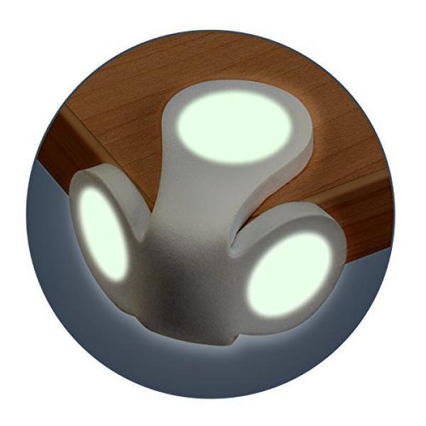 REER stūru aizsargi, caurspīdīgi, apgaismojošs, 2 gb.