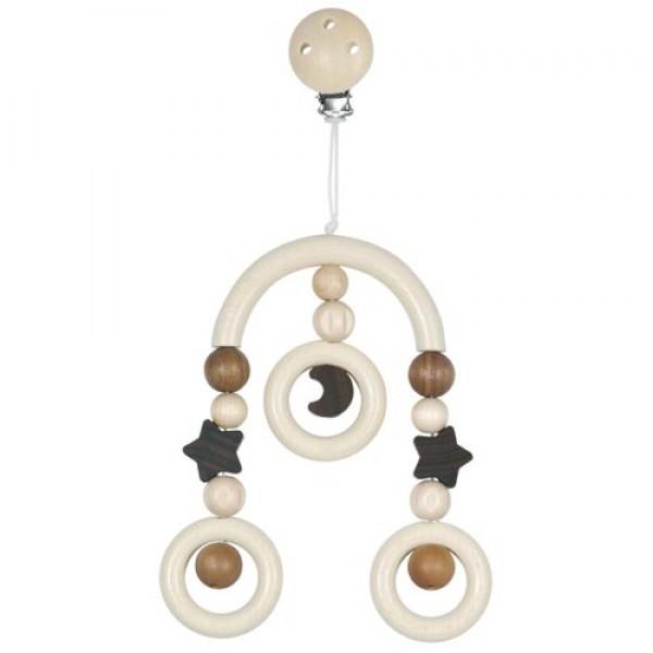 Heimess 735260 Kustīgā dekorācija - koka karuselis Moon and stars