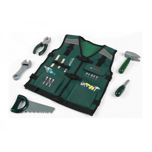KLEIN Bosch vaikiška liemenė su įrankiais