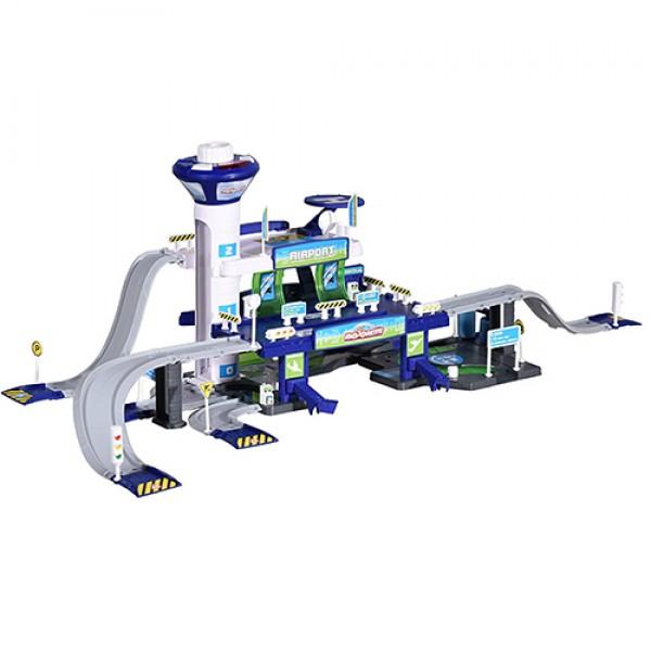 MAJORETTE Creatix oro uostas + 5 transporto priemonės