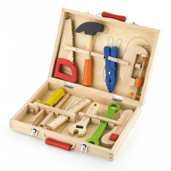 Viga Toys įrankių rinkinys 10 vnt.