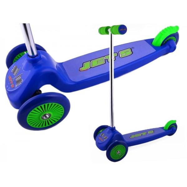 JET5 Bērnu skrējritenis (3 riteņu skūteris)