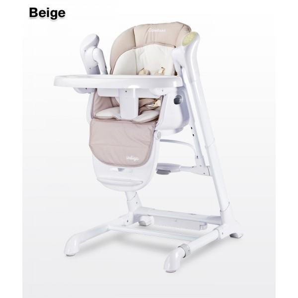 Caretero Indigo 2 in 1 barošanas krēsls - zīdaiņu šūpulis