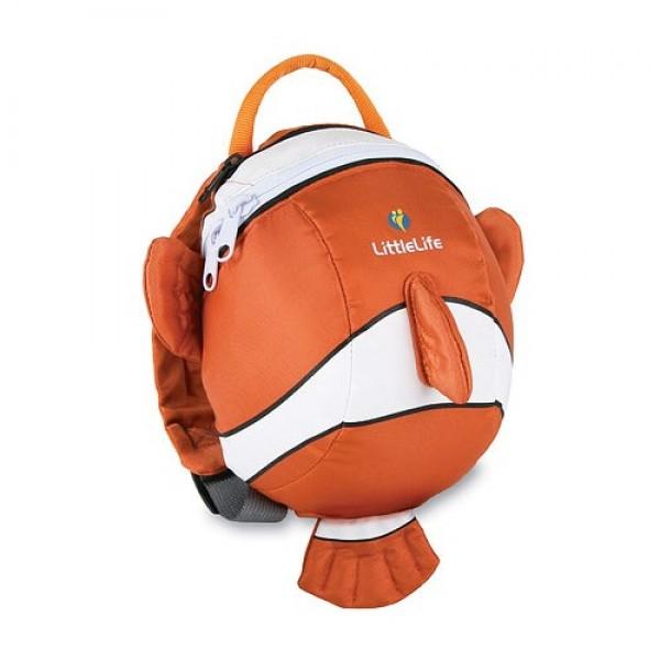 LittleLife  Bērnu mugursoma mazākajiem dzīvnieks, Clounfish