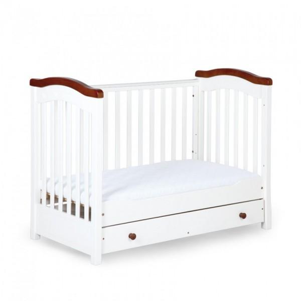 KLUPŠ Rafal bērnu koka gultas ar noņemamu malu