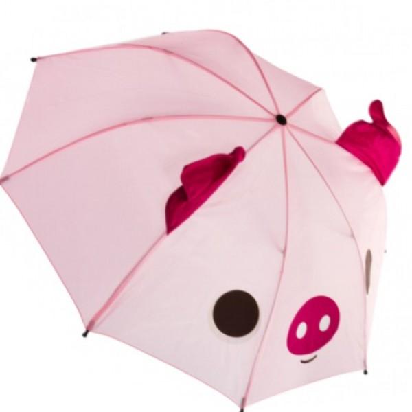 LITTLE PIGGY CARTOON lietussargs berniem D 78cm