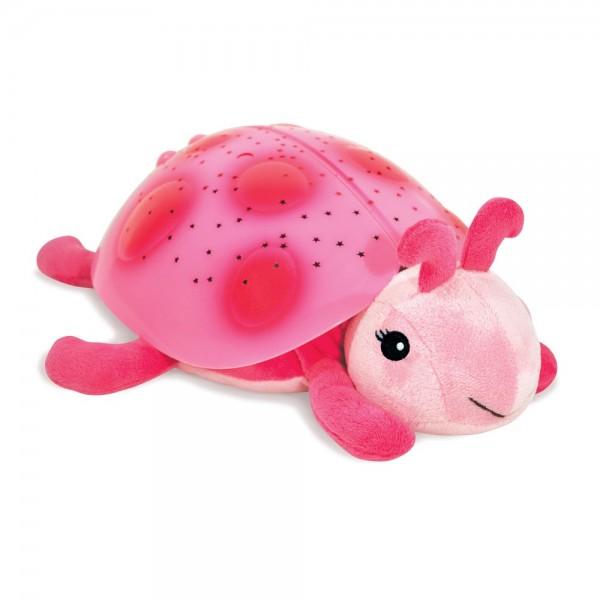 CLOUD-B Classic Twilight Ladybug nakts lampiņa Mārīte, pink