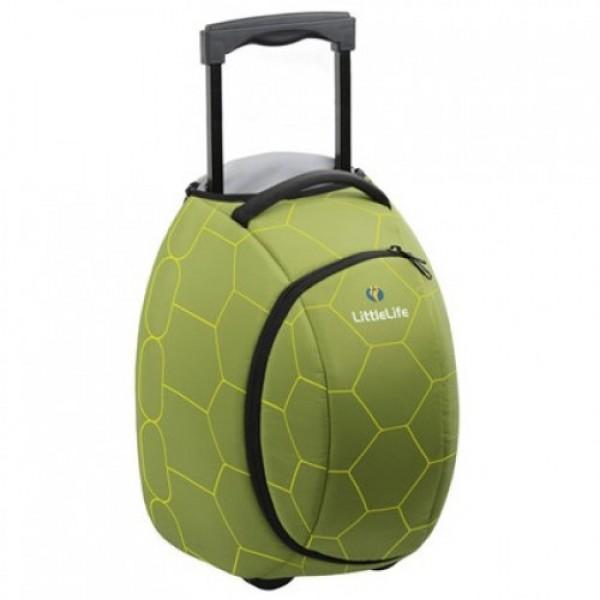 LittleLife Bērnu koferis ar ritentiņiem dzīvnieks Wheelie Duffle Bruņurupucis