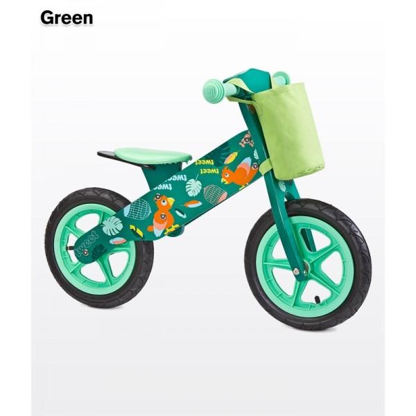 Caretero Zap Koka balansēšanas velosipēds  ar piepūšamām riepām