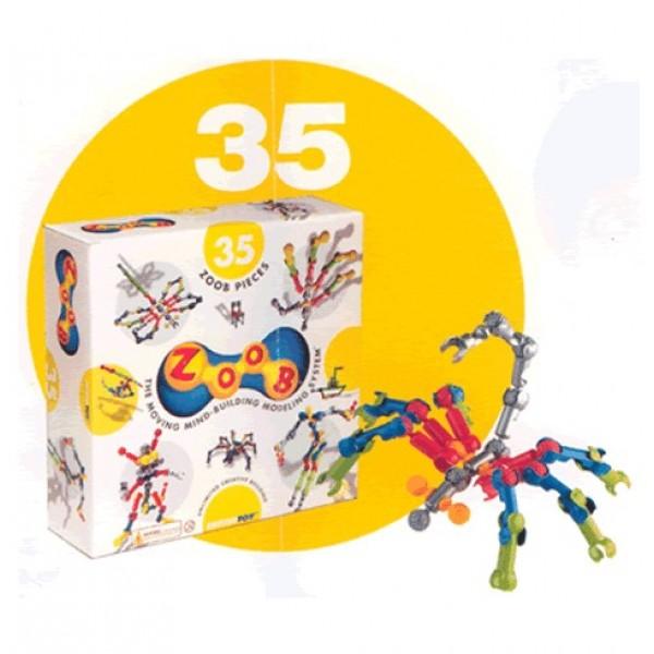 Zoob konstruktors - 35 gab.