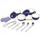 TIDLO virtuves instrumentu komplekts zils