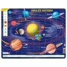 Larsen dėlionė (puzzle) Saulės sistema Maxi (puzzle)