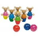GOKI 56943 Speedy Skittle Mice