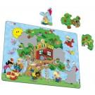 Larsen puzzle koks māja Maxi (puzzle)