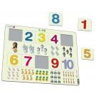 Larsen puzzle Skaitīt līdz 10 Maxi (puzzle)