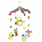GOKI 52920 Kustīgā dekorācija Colourful circus