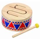 """PlanToys PT6404 mūzikas instruments, bungas """"Solid drum"""""""