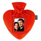 Fashy Hot water bottle FASHY Heart 6511 0,7L