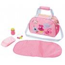 Baby Borna krepšys su pervystymo paviršiumi lėlėms