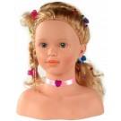 KLEIN didelė lėlės galva šukuosenos ir stiliaus kūrimui