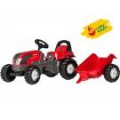 Rolly Toys Kid Valtra vaikiškas traktorius su priekaba