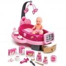 SMOBY Baby Nurse Elektroninis lopšys ir priežiūros rinkinys