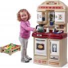 STEP2 Cozy Bronzos spalvos vaikiška virtuvėlė su virduliu
