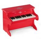 Viga Toys Mano pirmasis fortepijonas - raudonas