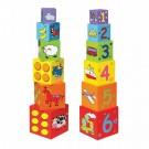 Viga Toys edukacinė piramidė