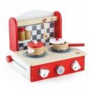 Viga Toys medinė sulankstoma virtuvė