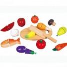 Viga Toys mediniai pjaustomi produktai