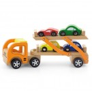 Viga Toys tralas su automobiliais