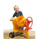 Wader QT žaislinė betono maišyklė Construct ir statybininko rinkinys