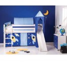 MIDI pusstāva gulta ar kāpnes Kosmonauts