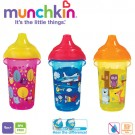 Munchkin 11892 Deco Click Lock Spill Proof Cup Krūzīte ar mīkstu silikona snīpi ērtākai dzeršanai 296ml