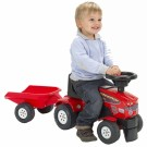 FALK traktoriukas - paspirtukas + priekaba 1080B
