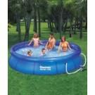 BESTWAY baseins FAST SET 305x76 cm, ar ūdens sūknis