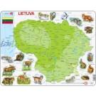 Larsen puzzle Lietuva Maxi