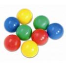 Krāsainās bumbas 6cm.-100 gb.