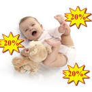 kūdikio kraitelis - pirmieji drabužėliai