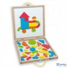 Andreu toys Magnētiskais komplekts ar kastīti