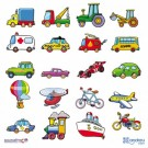 Andreu toys Magnēti transportlīdzekļi