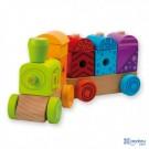 Andreu toys koka vilciens ar skaņām un gaismām