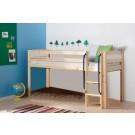 Pusstāva gulta ar kāpnes, natural