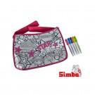 Simba Color Me Mine Maxi Hipsterės rankinė + 5 flomasteriai