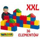 Wader  XXL didelės kaladėlės 36 elem. nuotrauka nr.1