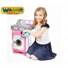 Wader elektroninė skalbimo mašina su besisukančiu būgnu AGD